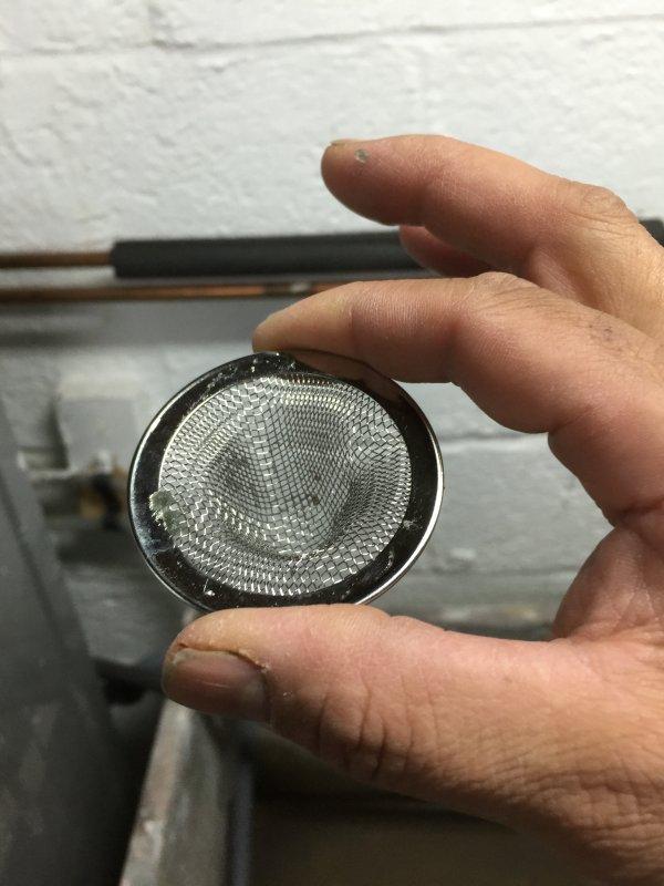 washing machine drain lint trap
