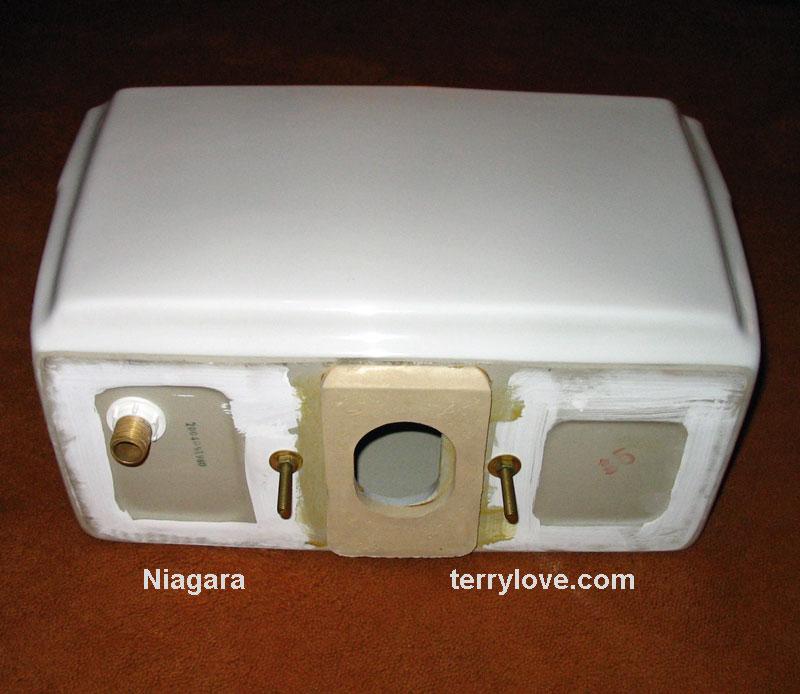 how to fix a niagara flapperless toilet