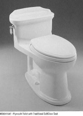 Beige Toilet Seat